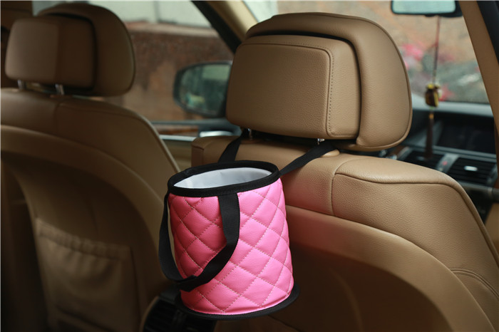 Europe style for Car Organizer Trash Can -