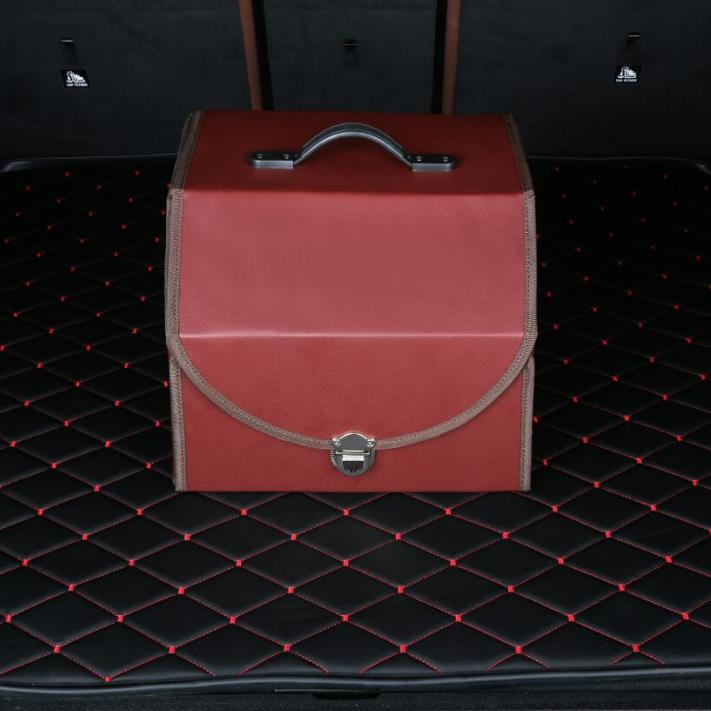 Factory wholesale Collapsible Plastic Car Trunk Cargo Organizer With Cover Featured Image