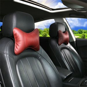 Hot Sale Car Seat Memory Foam Bone Shaped Head Rest Neck Support Pillow
