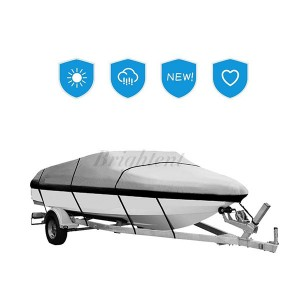 All weather protection Boat cover 22′ – 24′ L Up to 116 W