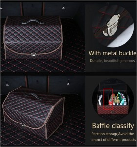 High reputation Car Trunk Organizer With Adjustable Straps