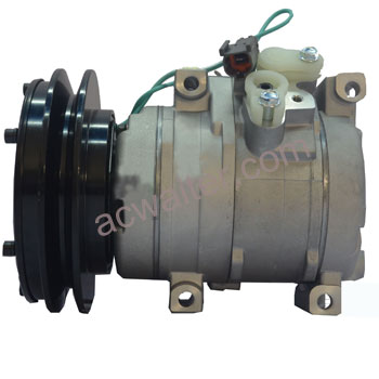 10S15C auto air conditioning compressor KOMATSU EXCAVATOR 447200-4052