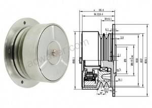 Carrier Refrigerant unit 750 compressor Centrifugal clutch