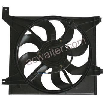 HYUNDAI SANTA FE 2.4L 2.7L 01-06 radiator fan 25386-26200 25231-38000 25350-26000 Featured Image