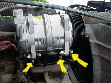 Automotive Air Conditioning Compressor Installation Instructions