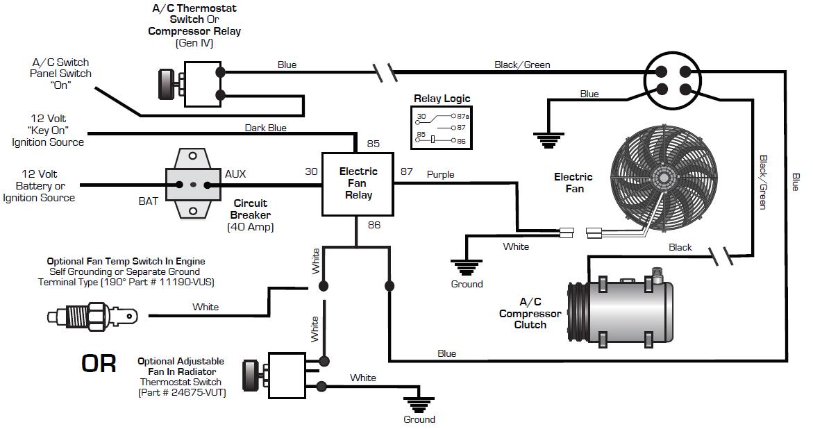 Auto Ac Compressor Wire Connection, Auto Aircon Wiring Diagram