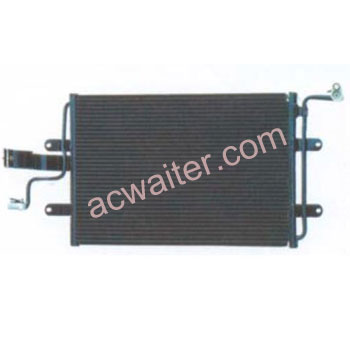2020 Good Quality auto air-condition condenser - Audi A3 Condenser 1J0820413N – Bowente