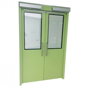 Double Open Automatic Swing Hygienic Doors