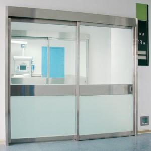 Automatic Hermetically Sealed Sliding ICU Glass Doors