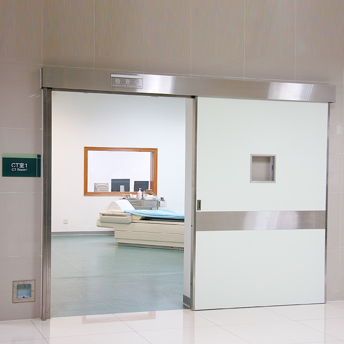 PET CT Scan Automatic Sliding Shielded Doors Featured Image