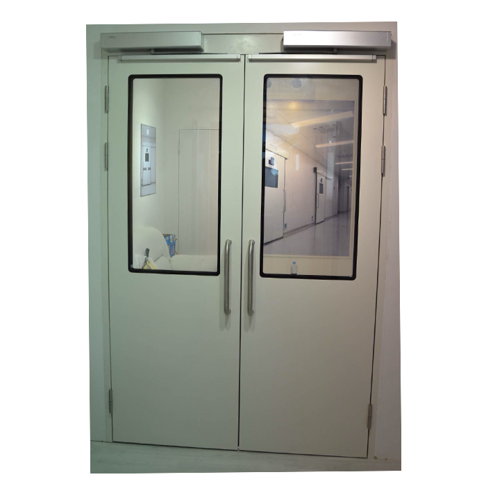 Double Open Automatic Swing Hygienic Doors Featured Image