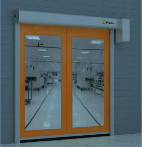 clean room rapid roller doors
