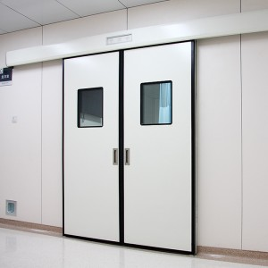 Double Open Automatic Sliding Hygienic Doors