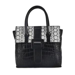 Leather Handbag-garwe ganda-67039D-dema