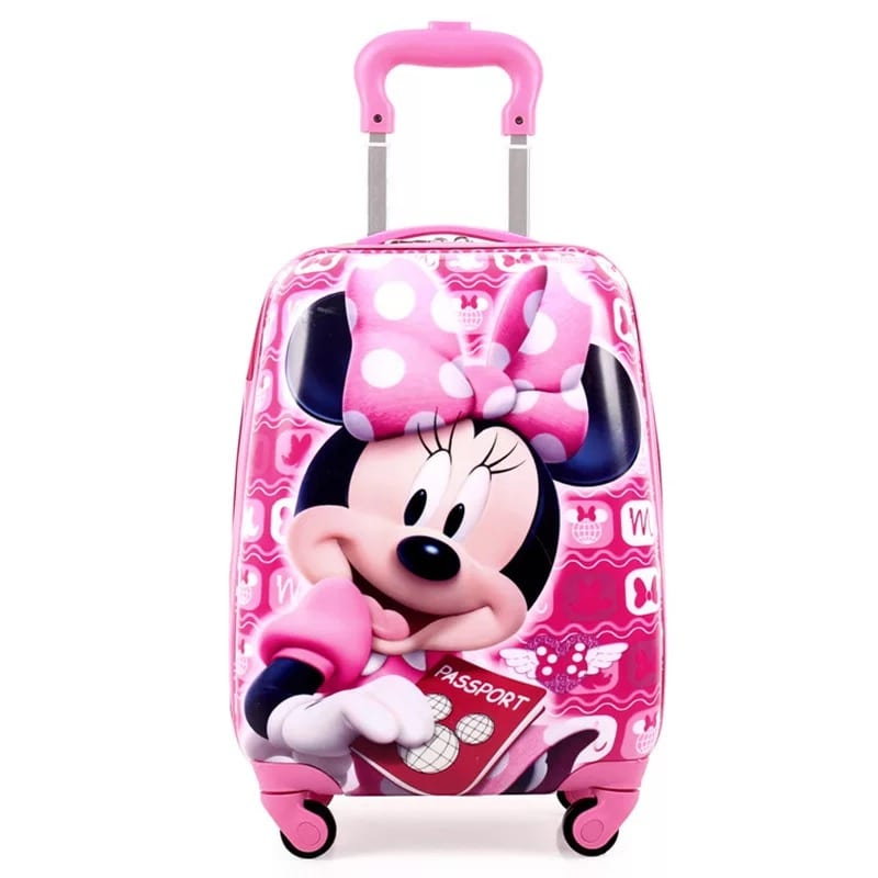 Gl Steel Roll Suitcase For Children - Children  Suitcase-Mickey Mouse – Zhongxi