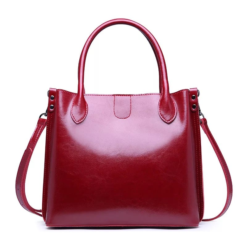 Pre-Painted Steel Sheet Tote Bag Leather - Leather Handbag-Fashion Handbag-66834D – Zhongxi