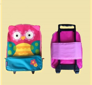 Children  Suitcase-Owl Style