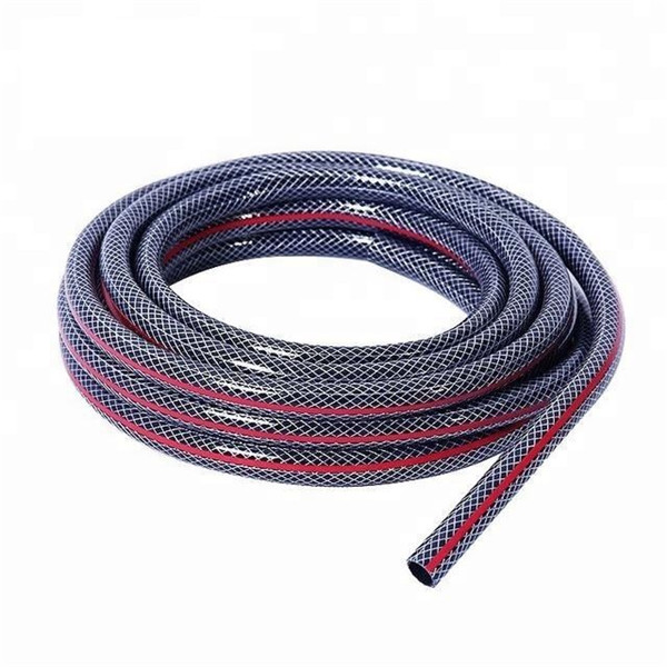 Direct factory good quality colorful pvc high pressure reinforced fiber hose