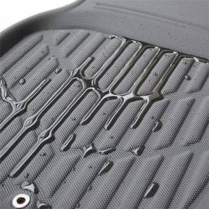 Diamond Black Universal TPR XPE Custom Car Mats Carpet For Men