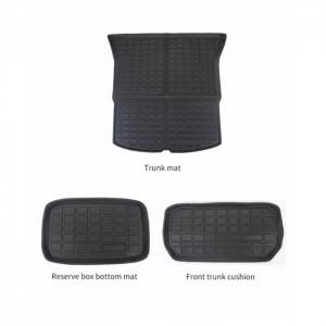 Dirtproof Easy To Clean Protection TPE Trunk Mat Dog Cushion