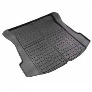 TPO TPE 3D Rubber Trunk Mat Waterproof Anti Slip Cushion
