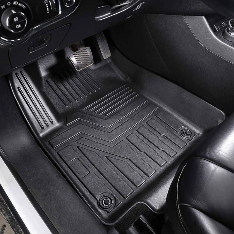 Professional All Weather TPE Black Car Mats Floor Liners For Infinit Qx60 Featured Image