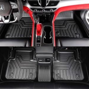 Waterproof Non Skid Luxury TPE Rubber Mats Car Floor Mats Honda Crider
