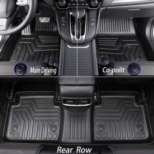 Best New Custom Car Mats Rubber For Women Set Honda Toyota Ford Tesla