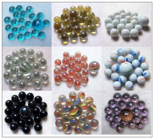 Wholesale Price China Board Game With Holes And Marbles - Wholesale Mixed Glass Marble – Aobang