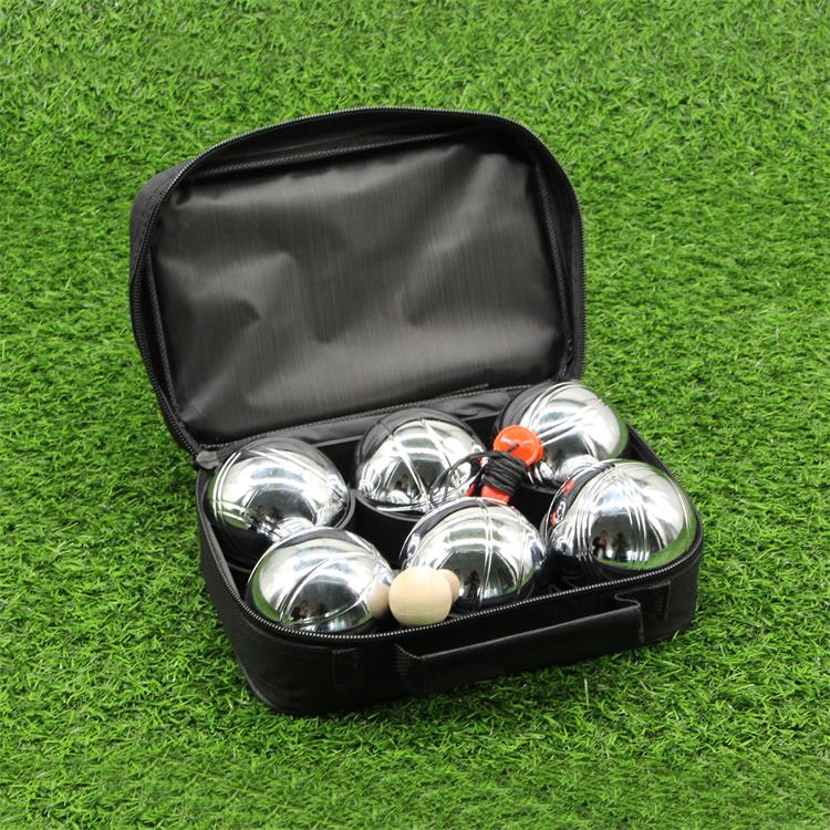 Professional China Marbles Rock Me Archimedes - Six France Bocce Set Petanque – Aobang