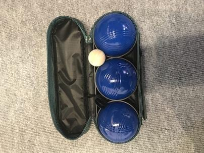 Hot Sale for Eddie Bauer Bocce Ball Set - Blue Spraying Boules Set In Nylon Bag – Aobang