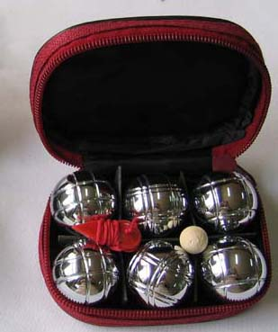 8 Year Exporter Toy Glass Marbles - Mini Petanque Chrome Plating Ball Set – Aobang