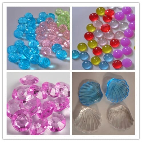 Roof Plate Artisan Lampwork Beads - Beauty colorful acrylic beads for aquarium decoration – Aobang