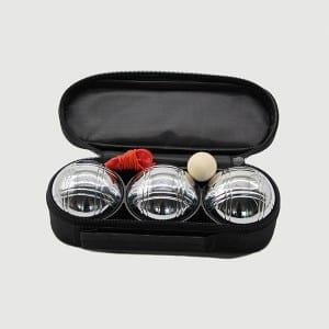 Metal French Lawn Petanque Boules Set