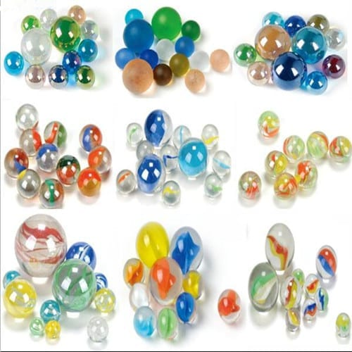 Hot sale transparent cat eye glass marbles