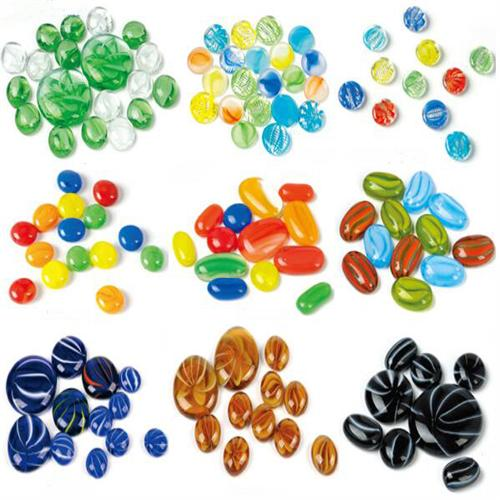 Fixed Competitive Price Country Marble Race Game - New design unique glass gems for decoration – Aobang