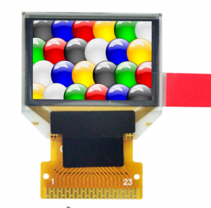 "0.95 ""OLED rəngli displey SPI / Paralel"