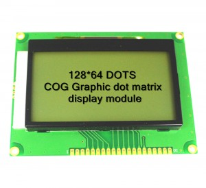 COG graphic dot matrix LCD module 12864COG-09