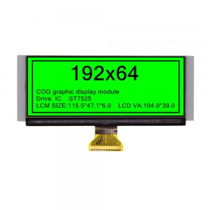 COG Graphic dot matrix  display module 19264A-COG