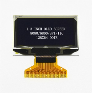 1.3′ OLED 128X64 30PIN SPI/IIC/Parallel