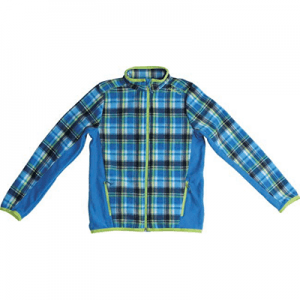 PRINTED MICROPOLAR FLEECE JACKET DF19-118A