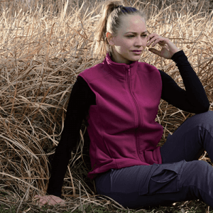 LADIES microfleece VEST DF19-108A