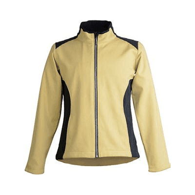 Well-designed Orange Softshell Jacket -
