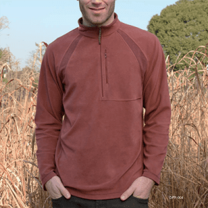 د اوبدل د ¼ ZIP fleece DF19-105A