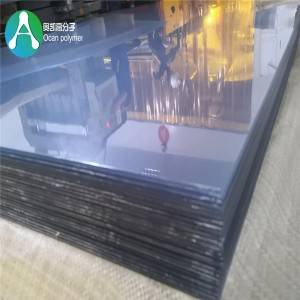 OEM manufacturer Clear Matt Pvc Sheet -