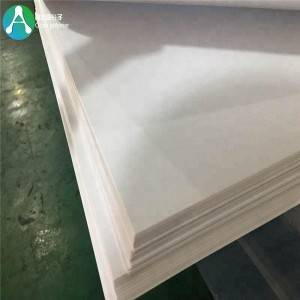 Umshini ukwakha abajonqile 3mm White Ezingashi Plastic Sheet for Ifenisha