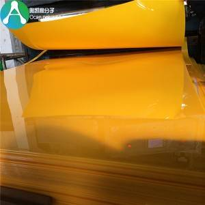 1.5mm Rigid Plate plast Farget PVC Sheet for Møbler Lamine