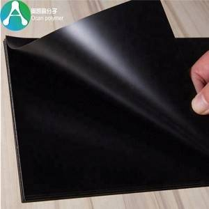 factory customized adhesive Pvc Sheet - 1mm thick rigid plastic pvc sheets black – OCAN Polymer