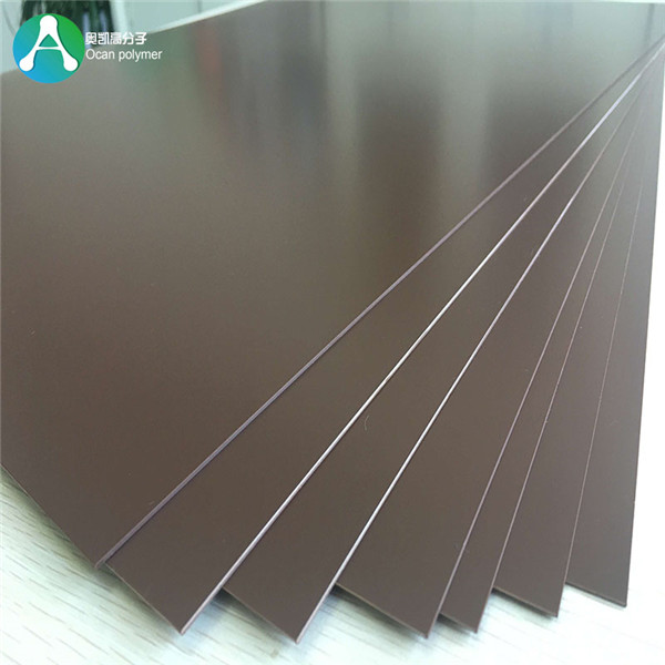 Leading Manufacturer for Hard Plastic Film Roll - color opaque rigid PVC plastic sheet  – OCAN Polymer