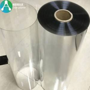 Clear PET Plastic film for Tray